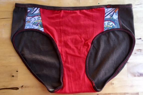 Island Pride: medium large tee shirt panties by Up & Undies