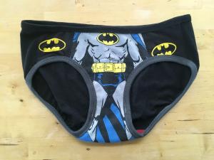 Bat Box T shirt superhero undies