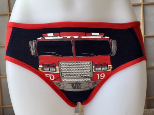 Redhead Special: small tee shirt panties by Up & Undies